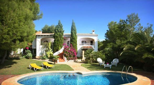 Апартаменты в испании на берегу моря дом за евро в дубае